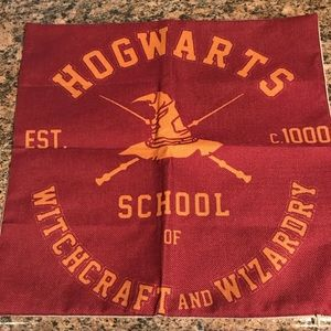 Harry Potter Hogwarts School Pillow Cover